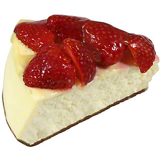 Central Market Strawberry Cheesecake Slice, 7 oz