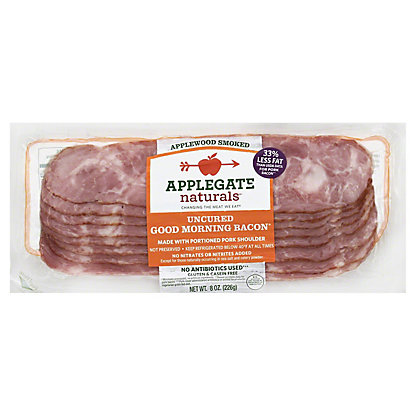Applegate Natural Uncured Good Morning Bacon,8 oz