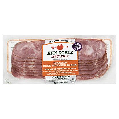 Applegate Natural Uncured Good Morning Bacon,8 oz