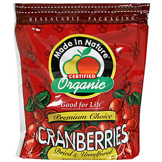 Made In Nature Organic Dried Cranberries,5 oz (142 g)