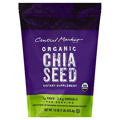 Central Market Chia Seed,16 OZ