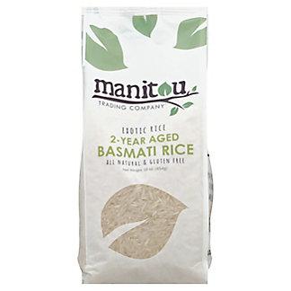 Manitou Trading Exotic Rice Basmati Rice Aged 2 Years, 16 oz