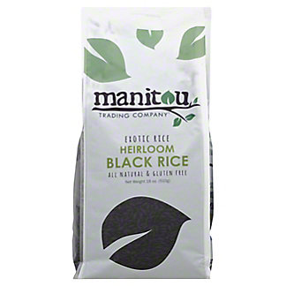 Manitou Trading Heirloom Black Rice,18OZ