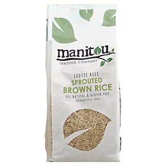 Manitou Trading Exotic Rice Sprouted Brown Rice,17OZ