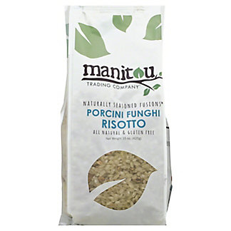 Manitou Trading Naturally Seasoned Fusions Porcini Funghi Rissoto,15OZ