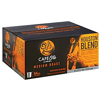 H-E-B Cafe Ole Houston Blend Single Serve Coffee Cups, 54 ct
