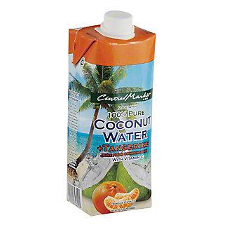 Central Market Tangerine Coconut Water, 16.9 oz