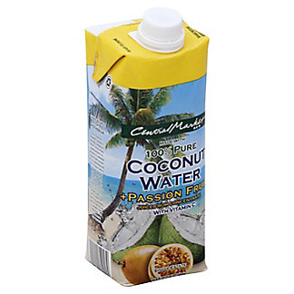 Central Market Passion Fruit Coconut Water, 16.9 oz