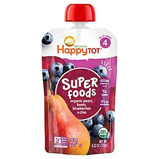 Happy Tot Superfoods Pears, Blueberries & Beets,4.22 oz