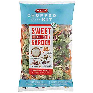 H-E-B Select Ingredients Sweet & Crunchy Garden Chopped Salad Kit,13 oz