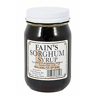 FAIN'S Sorghum Syrup,16 OZ