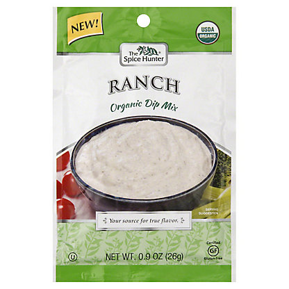 The Spice Hunter Organic Ranch Dip Mix,.09OZ