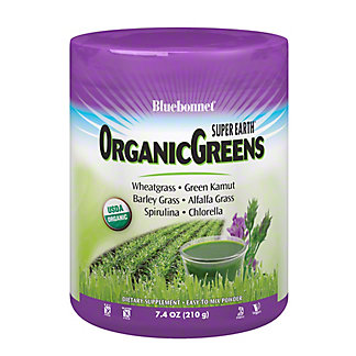 Bluebonnet Super E Organic Greens Powder, 7.4 oz