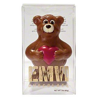 Emvi Milk Chocolate Love Bear, 3 oz