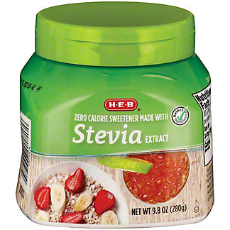 H-E-B Stevia Extract Jar, 9.8 oz