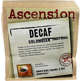 ASCENSION COFFEE Ascension Coffee Colombia Decaf,12 OZ
