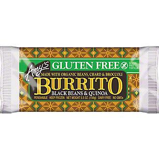 Amy's Gluten Free Black Bean Quinoa Burrito,5.50 oz