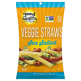 Good Health Veggie Straws Sea Salt, 6.75 oz (191.4 g)