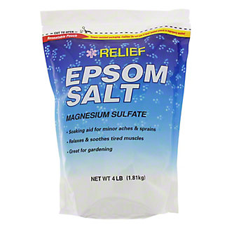 Relief MD Epsom Salt, 4 lb