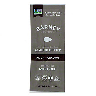 Barney Butter Cocoa & Coconut Almond Butter, 0.6 oz