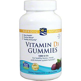 Nordic Naturals Vitamin D3 Gummies, 120 ct
