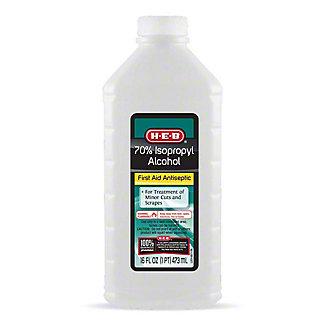 H-E-B 70% Isopropyl Alcohol,16.00 oz