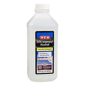 H-E-B 50% Isopropyl Alcohol,16.00 oz