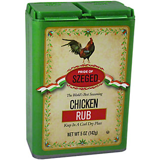 Pride of Szeged Chicken Rub,5.00 oz