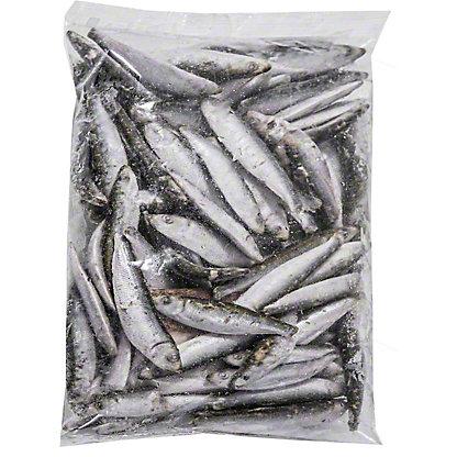 Central Market Whole Sardines Previously Frozen 2 LB Bag,2 LB