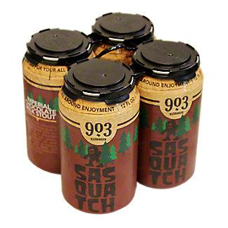 903 Brewers Sasquatch Imperial Chocolate Milk Stout,4/12 Z
