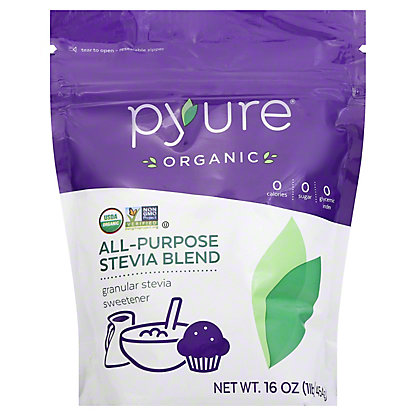 Pyure Organic Stevia All Purpose Sweetener,16 OZ