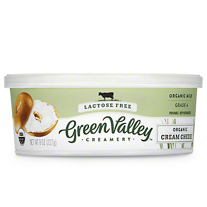 Green Valley Organics Lactose Free Cream Cheese,8 OZ