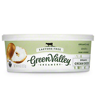Green Valley Organics Lactose Free Cream Cheese,8 OZ