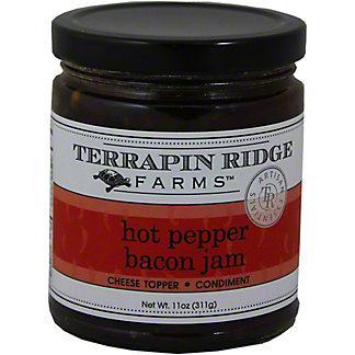 Terrapin Ridge Hot Pepper Bacon Jam, 9OZ