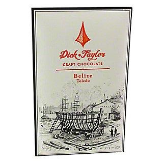 DICK TAYLOR CRAFT CHOCOLATE Dick Taylor Belize 72% Dark Chocolate Bar,2 OZ