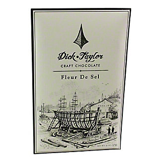 DICK TAYLOR CRAFT CHOCOLATE Dick Taylor Fleur De Sel Dark Chocolate Bar,2 OZ
