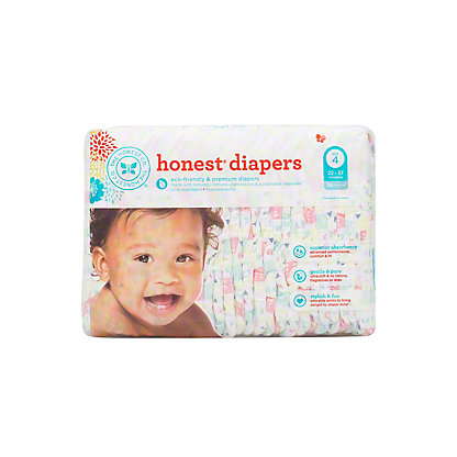 The Honest Company Tribal Diapers 29 ct,Size 4