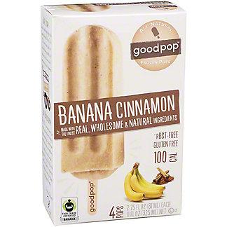 GoodPop Banana Cinnamon Pops, 4 ct