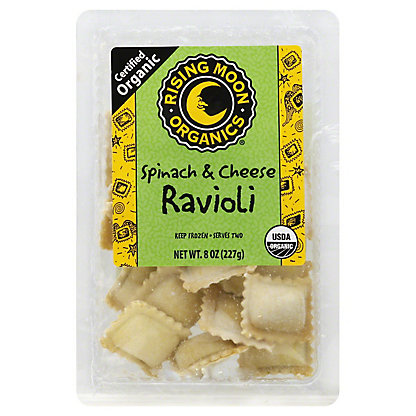 Rising Moon Organics Spinach & Cheese Ravioli,8 OZ