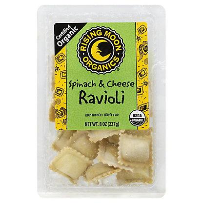 Rising Moon Organics Spinach & Cheese Ravioli,8 OZ