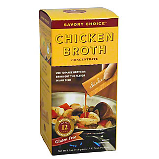 Savory Choice Chicken Broth Concentrate,12.00 ea