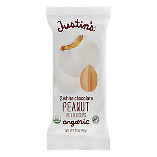 Justin's White Chocolate Peanut Butter Cups,2 CT