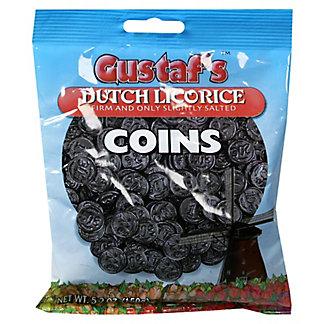 Gustaf's Licorice Coins Bag,5.2 OZ