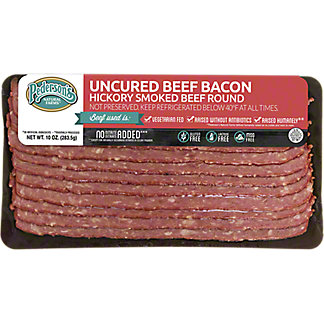 Pederson's Uncured Beef Bacon,10 OZ