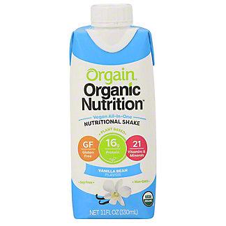 Orgain Vegan Nutritional Shake Vanilla,11 OZ