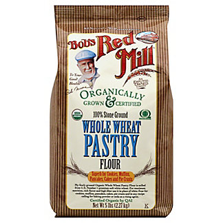 Bob's Red Mill Organic Whole Wheat Pastry Flour, 5 lb