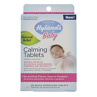 Hyland's Baby Calming Tablets, 125 ct