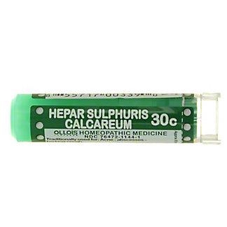 Ollois Hepar Sulphuris Calcareum 30C, 80 PLT