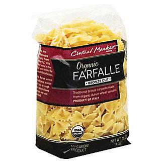 Central Market Organic Farfalle Bronze Cut Pasta,16 OZ