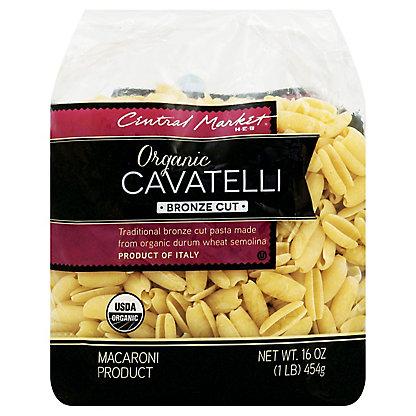 Central Market Organic Cavatelli Bronze Cut Pasta, 16 oz